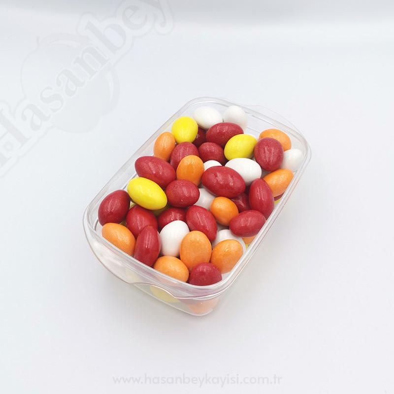 Renkli Çikolata Kaplı Kayısı Çekirdeği Draje 250 Gr