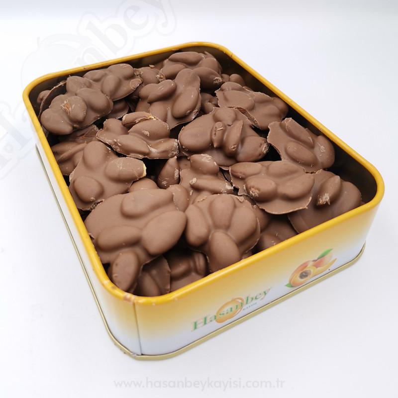 Sütlü Çikolatalı Kayısı Çekirdeği Küçük Boy 400gr