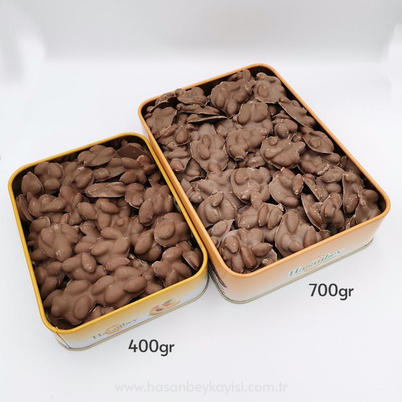 Sütlü Çikolatalı Kayısı Çekirdeği Büyük Boy 700gr